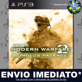 Call Of Duty Modern Warfare 2 + Stimulus Package Ps3 Cód Psn