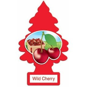 Aromatizante Little Trees Wild Cherry 30 Unidades