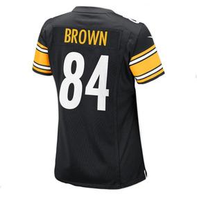 Jersey Femenino Nike Nfl Pittsburgh Steelers N° 84 Antonio B