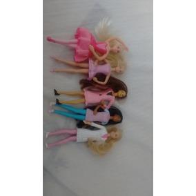 Minis Bonecas Barbie Antigas (mc Donalds)
