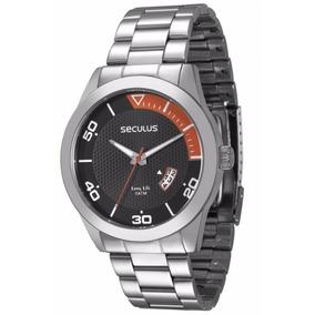 Relógio Seculus Long Life 2 Anos Garantia Calen 28441g0svna1