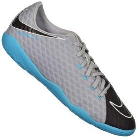 01c24a2b9d4 Chuteira Nike Hypervenom Phelon Premium Ic Futsal Prata - Chuteiras ...