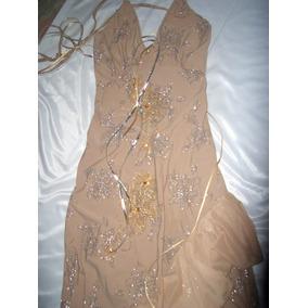 Vestidos de fiesta bordados con pedreria