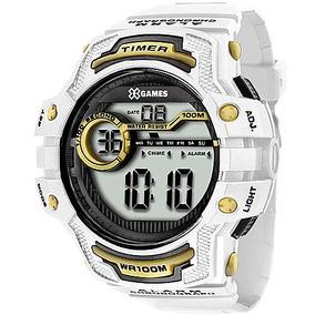 8673443eebd Relógio Masculino Digital X Games Xmppd342 Bxbx Branco - Relógios De ...