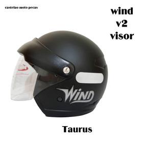 Capacete Wind V2 Visor Taurus