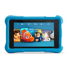 Kindle Fire Hd 6 8gb Kids Edition Com Case Azul (usado)