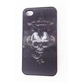 Estuche Carcasa Case Calavera Craneo iPhone 4 4s Holografico