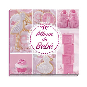 Álbum Do Bebê Rosa Menina - Vale Das Letras