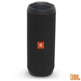 Caixa Som Bluetooth Jbl Potência 16w Ios Android Preto Flip4