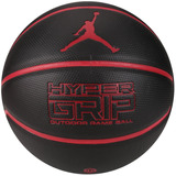 fda9d365b Bola De Basquete Nike Jordan Hyper Grip 4p Tamanho 7 - Preta