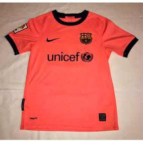 Playera Barcelona Messi Y Varias Niño 8 A 10 Años  08371ce414a