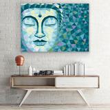 Cuadro Decorativo Buda Moderno Abstracto Minimalista Canvas