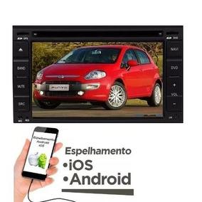Central Multimídia Fiat Punto Kit Dvd Genuína Completa Gps