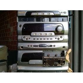 Micro System Gradiente E-700 (com Defeito Tirar Peças)
