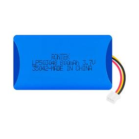 Bateria 3,7v 800mah Li-ion 50x30x5mm C/ Pcb Fio Conector