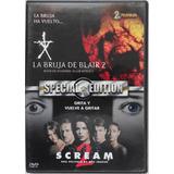 Dvd La Bruja De Blair 2 / Scream 2 Edición Especial
