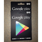 Tarjeta Google Play $10 Región Usa - Email Delivery