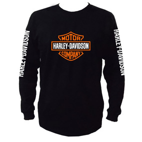 Harley Davidson Playera Manga Larga Mod01 -envío Gratis