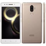 Smartphone Lenovo K8 Plus Dourado 32gb Dual Chip
