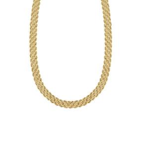 Gargantilla De Oro Amarillo 43 Cm-r7328-151