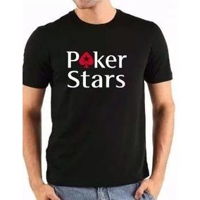Camiseta Camisa Poker Stars - Exclusiva Na Loja 5e9661550d5e0
