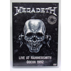 Dvd Megadeth - Live At Hammersmith Odeon 1992