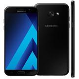 Samsung Galaxy A7 Preto 2017 32gb,4g Dual Vitrine