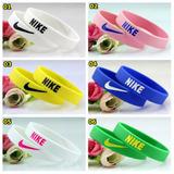Pulseira Silicone Nike Dual Color Nba Basketball