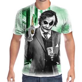 Camiseta Coringa Tamanho Gg - Camisetas Manga Curta para Masculino ... a6d6ac63eb4