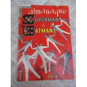 Almanaque Superman E Batman 1957 - Original