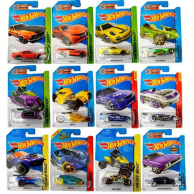 Hot Wheels Pack X10 Colección Autos Surtidos Original Mattel