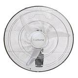 Ventilador De Pared 100w Cromado Exahome 50cm 1 Año Garantia