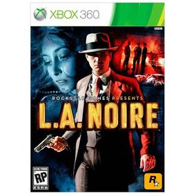 L.a. Noire Xbox 360 - Mídia Física - Promoção!