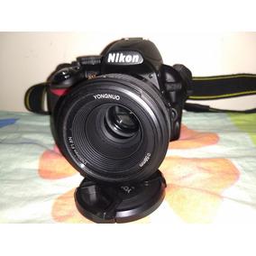 Nikon D3100 So 1351 Cliks + 50mm F1,8 Auto Foco Semi Nova