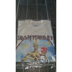 Playera Iron Maiden Vintage 1988 Antigua Seventh Son Tour