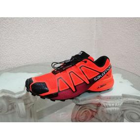 Gvashoes Salomon Speed 3 - 29 Cm Naranja -montaña Sendero