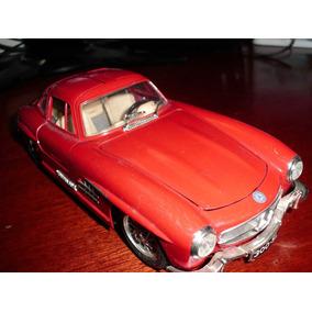 Mercedes Benz 300sl-1954 - Burago Italiana-excelente Estado