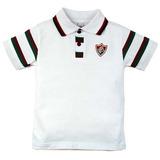Camiseta Polo Meia Malha Menino Fluminense Reve Dor d10acf641e9b6