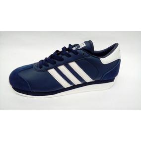 info for ee461 e7c3a Tenis Zapatillas adidas Country Azul Blanca Hombre Env Grat
