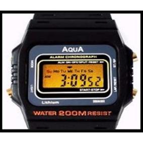 d89b72178d4 Relogio Aqua Water 200m Resist - Relógios no Mercado Livre Brasil