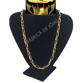 5517dfe4177 Cordao Ouro Oco - Corrente de Ouro Unissex no Mercado Livre Brasil