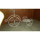 Jaulas Decorativas ( Juego De 12 Triciclo)