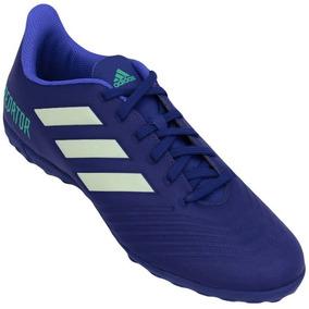 Chuteira Adidas - Chuteiras Adidas de Society para Adultos Azul no ... f78751054e5fd