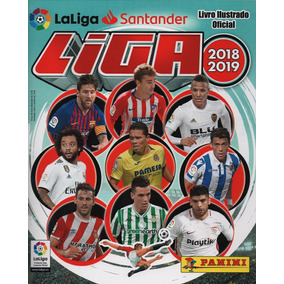 Álbum Figurinhas Liga Espanhola 2018/2019 Completo P/colar
