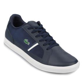 20fbef3b8219a Zapatillas Lacoste Azul en Mercado Libre Argentina