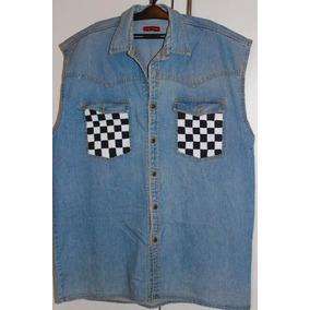 10e7686953d20 Camisa Regata Jeans Masculina - Calçados