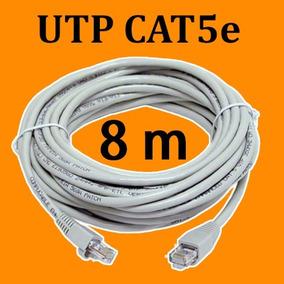 Cable Red Utp Cat 5e Redes De 8 Metros.