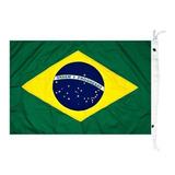 Bandeira Do Brasil P Barcos Mastro Alcançado Náutica 23 X 33