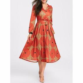 5c8861297 Vestidos Fiesta - Vestidos Casuales de Mujer Geométrico en Mercado ...