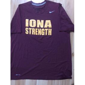 Playera Guinda Nike Dri Fit Iona Strength Talla L 54af922e72437